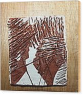 Ed And Ezra - Tile Wood Print