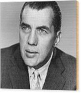 Ed Sullivan 1901-1974, American Writer Wood Print