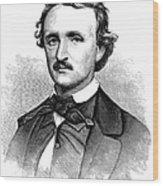 Edgar Allan Poe (1809-1849) Wood Print