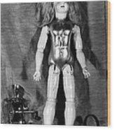 Edison: Talking Doll, C1890 Wood Print