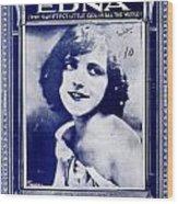 Edna Wood Print