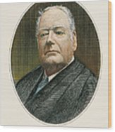 Edward Douglass White Wood Print by Granger