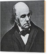 Edward Fitzgerald, English Writer Wood Print by Humanities And Social Sciences Librarynew York Public Library
