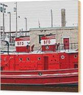 Edward M Cotter 0001 Wood Print