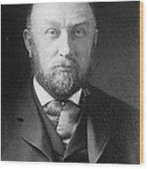 Edward Pickering, American Astronomer & Wood Print