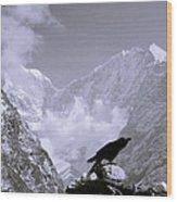 Eerie Himalayas Wood Print