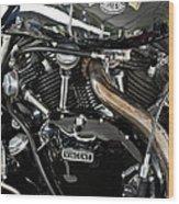 Egli-vincent Godet Motorcycle Wood Print