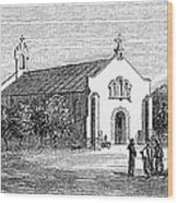 Egypt: El Guisr Church, 1869 Wood Print
