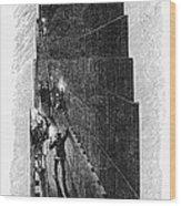 Egypt: Pyramid Interior Wood Print