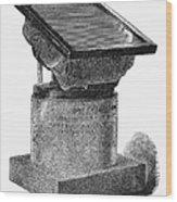 Egypt: Rosetta Stone Wood Print