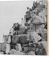 Egypt: Tourism, C1890s Wood Print