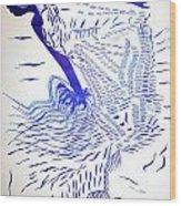 Egyptian Baladi Dance Wood Print