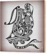 Egyptian Labyrinth Wood Print