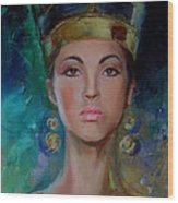 Egyptian Princess Wood Print