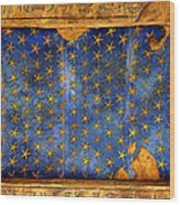 Egyption Night Sky Wood Print