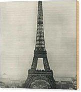 Eiffel Tower 1890 Wood Print
