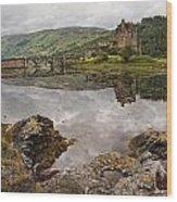 Eilean Donan Castle 2 Wood Print