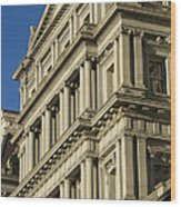 Eisenhower Executive Office Building Washington Dc Wood Print