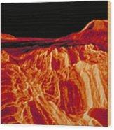 Eistla Regio Of Venus Wood Print