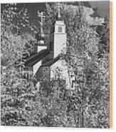 Eklutna Church Wood Print