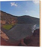 El Golfo Panorama Wood Print