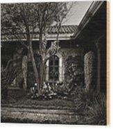 El Sitio Wood Print