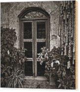 El Sitio Window Wood Print