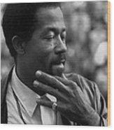 Eldridge Cleaver 1935-1998, Minister Wood Print by Everett