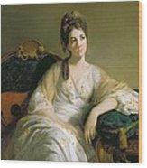 Eleanor Francis Grant - Of Arndilly Wood Print
