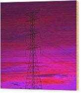 Electric Dreams Wood Print