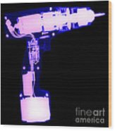 Electric Drill Wood Print