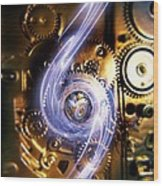 Electromechanics, Conceptual Image Wood Print