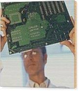 Electronics Engineer Wood Print