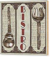 Elegant Bistro 1 Wood Print
