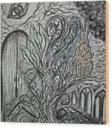 Element Tree Wood Print