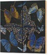 Elena Yakubovich Butterfly 2x2 Wood Print