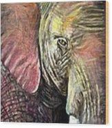 Elephancy Wood Print