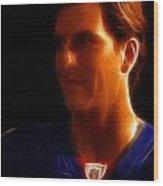 Eli Manning - New York Giants - Quarterback - Super Bowl Champion Wood Print