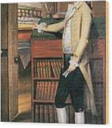 Elijah Boardman Wood Print by Ralph Earl