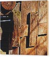 Elijah Oliver Smokehouse Wood Print