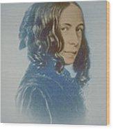 Elizabeth Barrett Browning, English Poet Wood Print