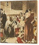 Elizabeth Fry 1780-1845 Was An English Wood Print by Everett