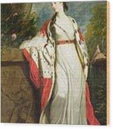Elizabeth Gunning - Duchess Of Hamilton And Duchess Of Argyll Wood Print by Sir Joshua Reynolds