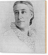 Elizabeth Stuart P. Ward Wood Print