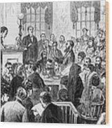Elizabeth Wharton Trial Wood Print