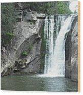 Elk River Falls Wood Print