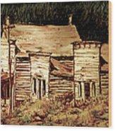 Elkhorn Montana Wood Print