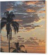Ellery Sunrise Wood Print
