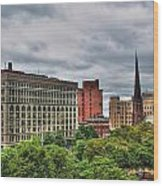 Ellicott Square Building     St. Joseph Cathedral     Prudential Guaranty Building Wood Print