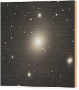 Elliptical Galaxy Messier 87 Wood Print